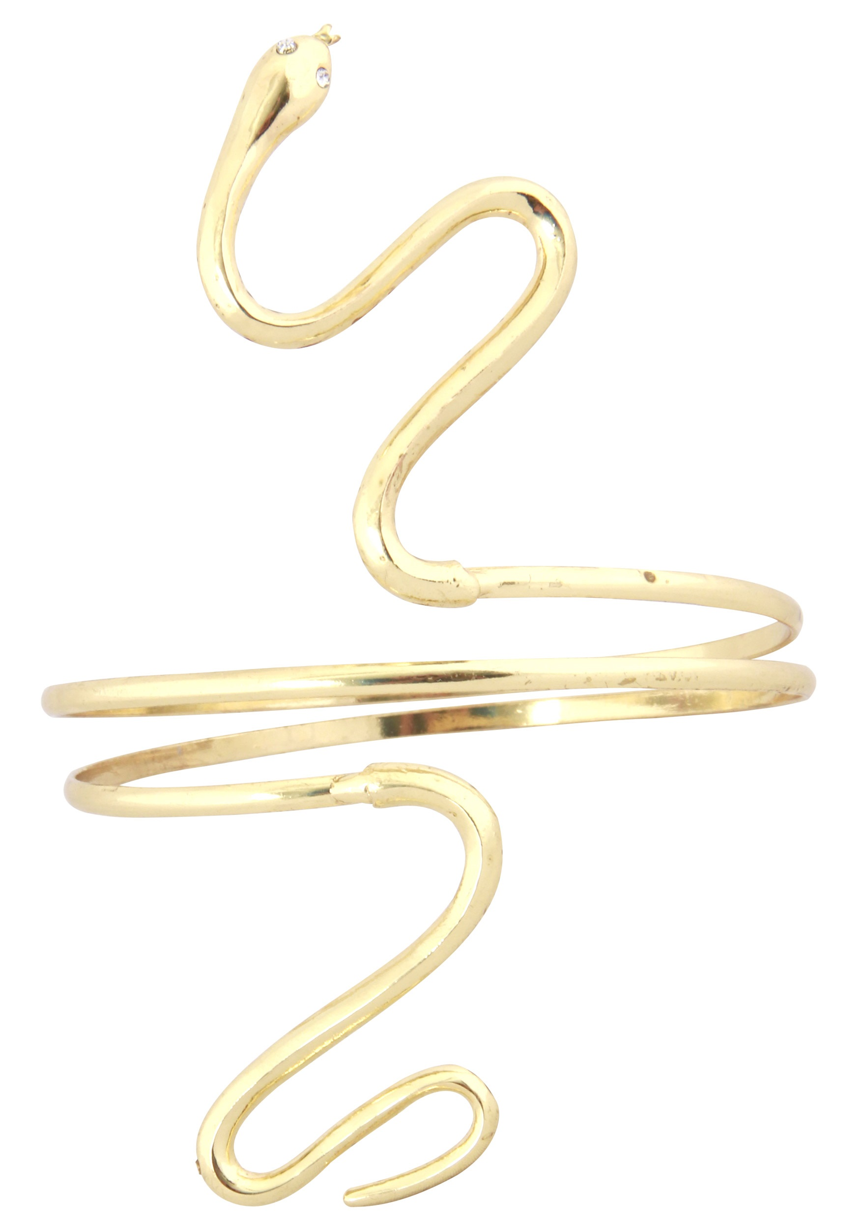 Lady Cleopatra Egypt Queen Medusa Fancy Dress Accessory Golden Snake Armband UK