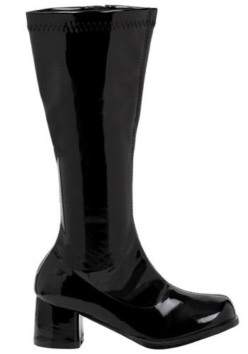 Image of Girls Black Gogo Boots