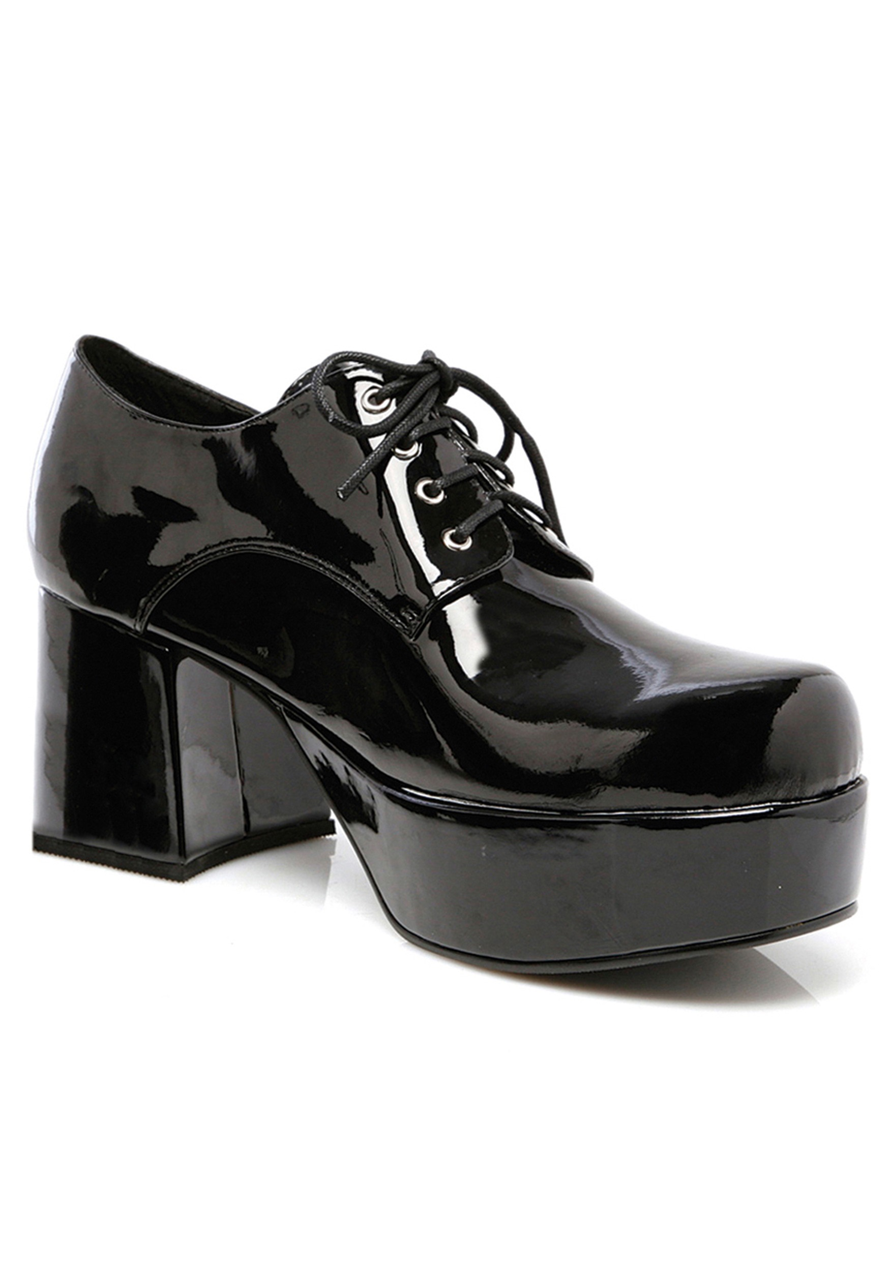 Black Munchkin Shoes Mens Black Pimp Shoes