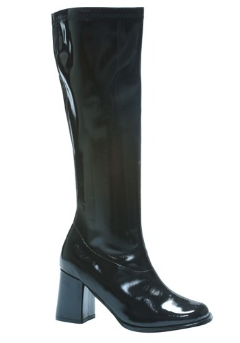 Womens Black Gogo Boots By: Ellie for the 2015 Costume season.