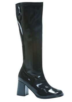 Womens Black Gogo Boots Update Main