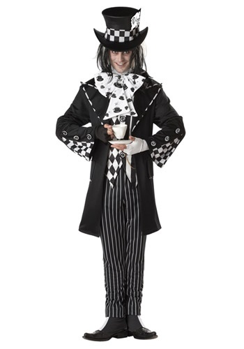 Plus  (Plus Size Dark Mad Hatter Costume)