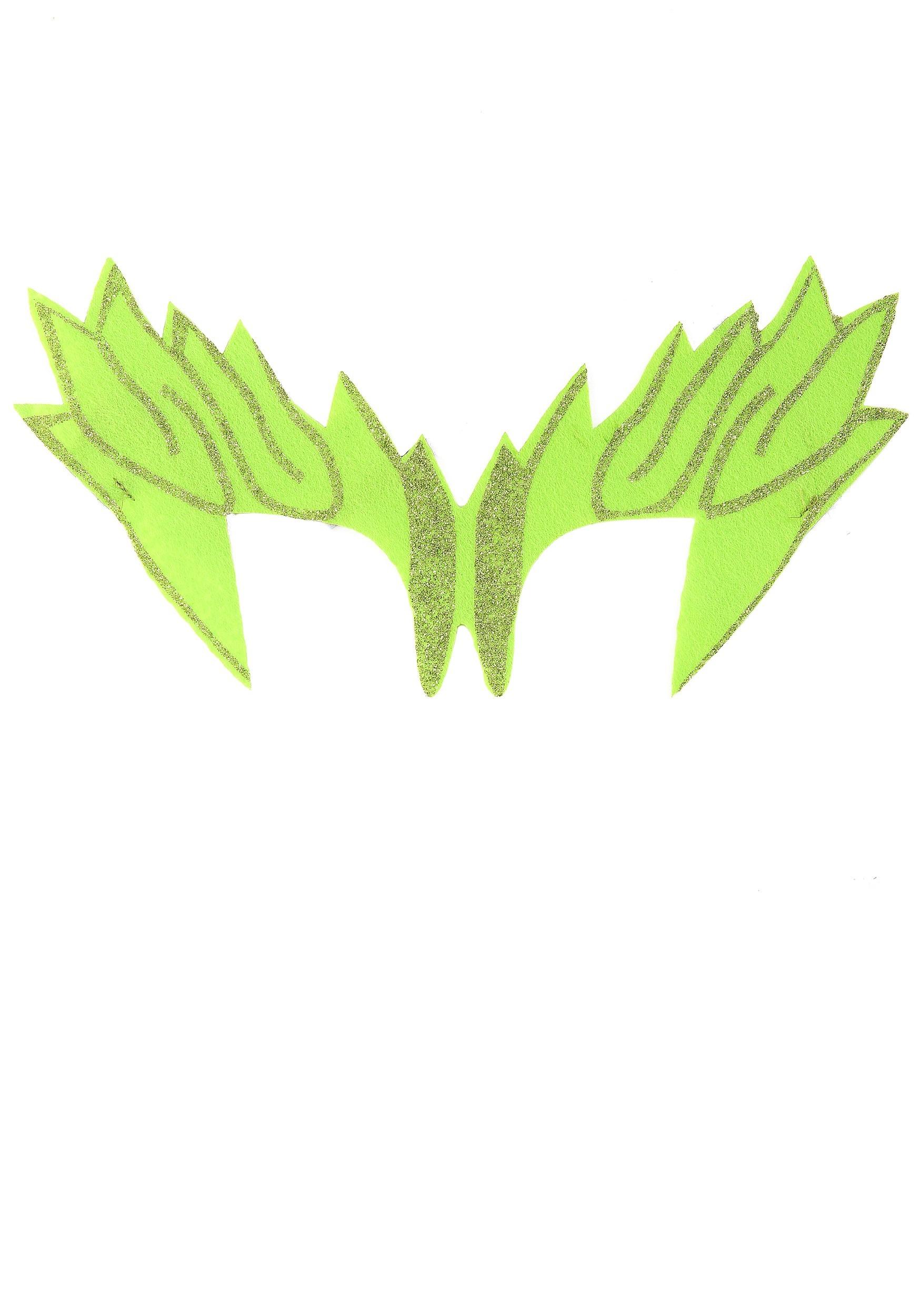 Green Leaf Eye Mask