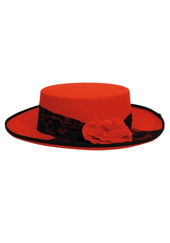 Womens Red Day of the Dead Hat