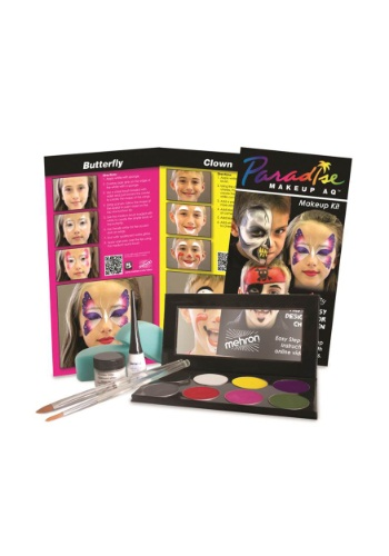 Click Here to buy Mehron Face Painting Kit from HalloweenCostumes, CDN Funds