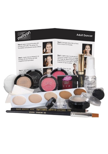 Click Here to buy Mehron Dancers Makeup Kit from HalloweenCostumes, CDN Funds