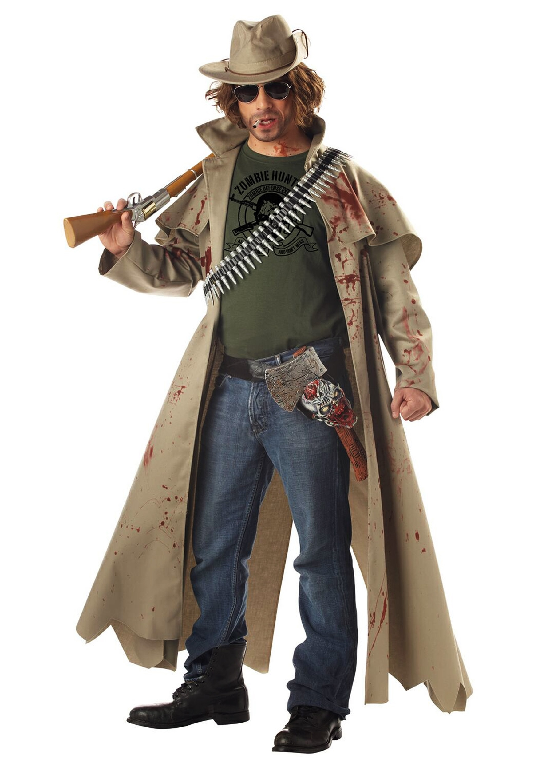 Zombie Gangster Halloween Costumes