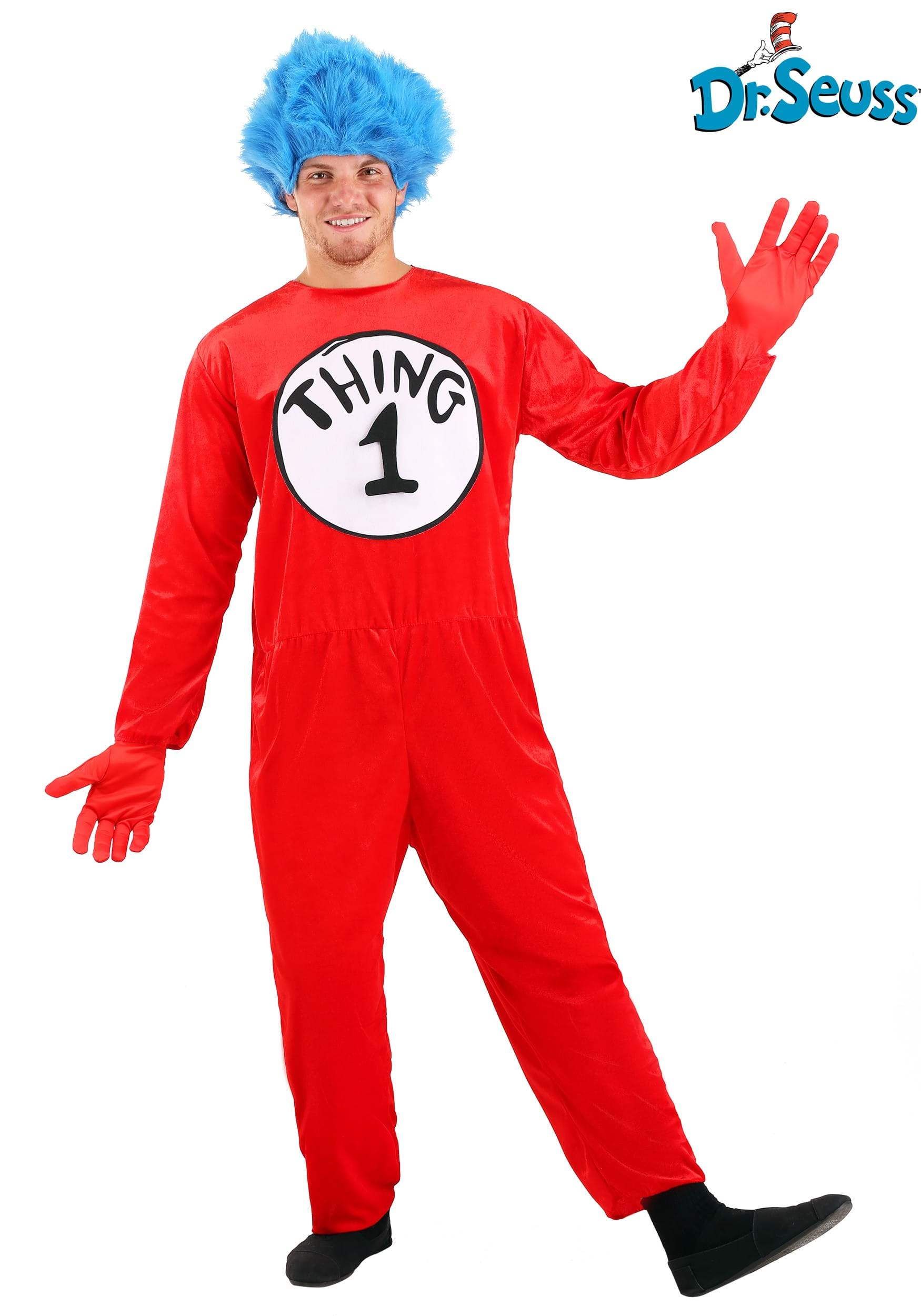 thing 1 thing 2 adult costume - Thing 1 Thing 2 Halloween Costume