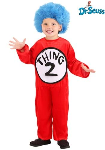 Click Here to buy Thing 1 & Thing 2 Toddler Costume from HalloweenCostumes, USA Funds & Shipping