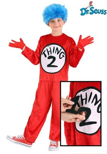 Thing 1 & Thing 2 Kids Costume (Thing 1 And 2 Costumes)
