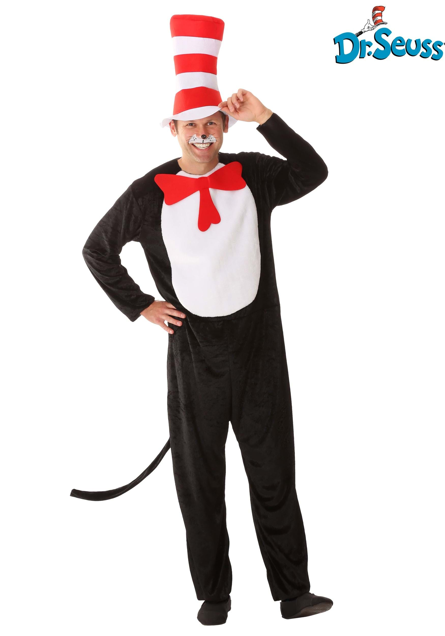sc 1 st  Halloween Costumes & Cat in the Hat Adult Costume