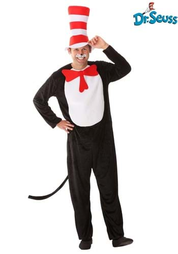 Click Here to buy Cat in the Hat Adult Costume from HalloweenCostumes, USA Funds & Shipping