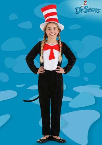 Click Here to buy Cat in the Hat Kids Costume from HalloweenCostumes, USA Funds & Shipping