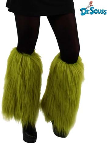 Grinch Fuzzy Leg Warmers