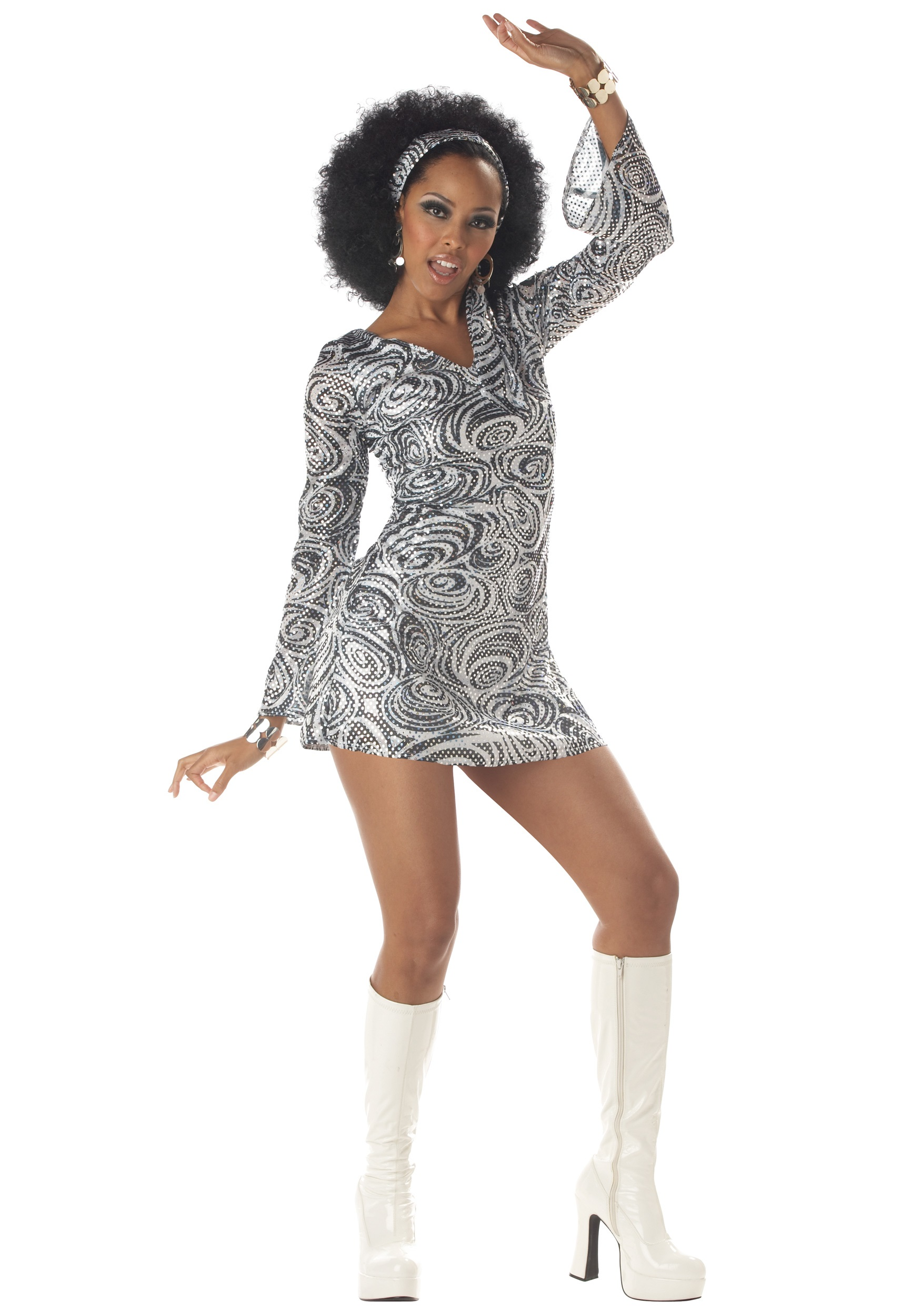 sc 1 st  Halloween Costumes & Sexy Disco Diva Dress