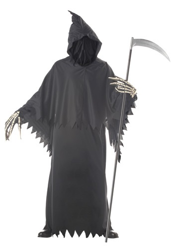 Grim Reaper Deluxe Costume By: California Costume Collection for the 2015 Costume season.