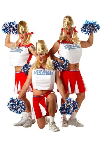 Click Here to buy Mens Cheerleader Costume from HalloweenCostumes, USA Funds & Shipping