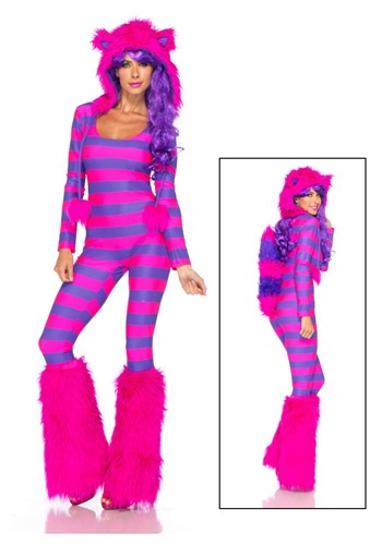 Women's Edgy Halloween Costumes - SEXY CHESHIRE CAT COSTUME