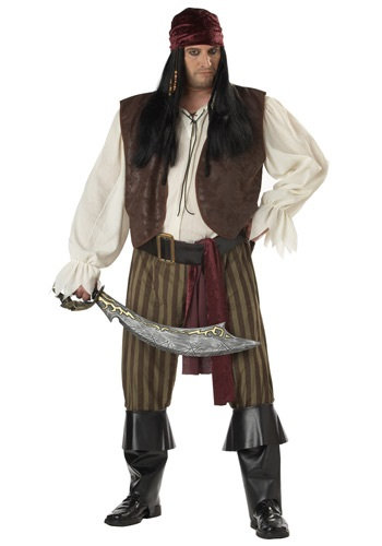 Plus Size Rogue Pirate Costume By: California Costume Collection for the 2015 Costume season.