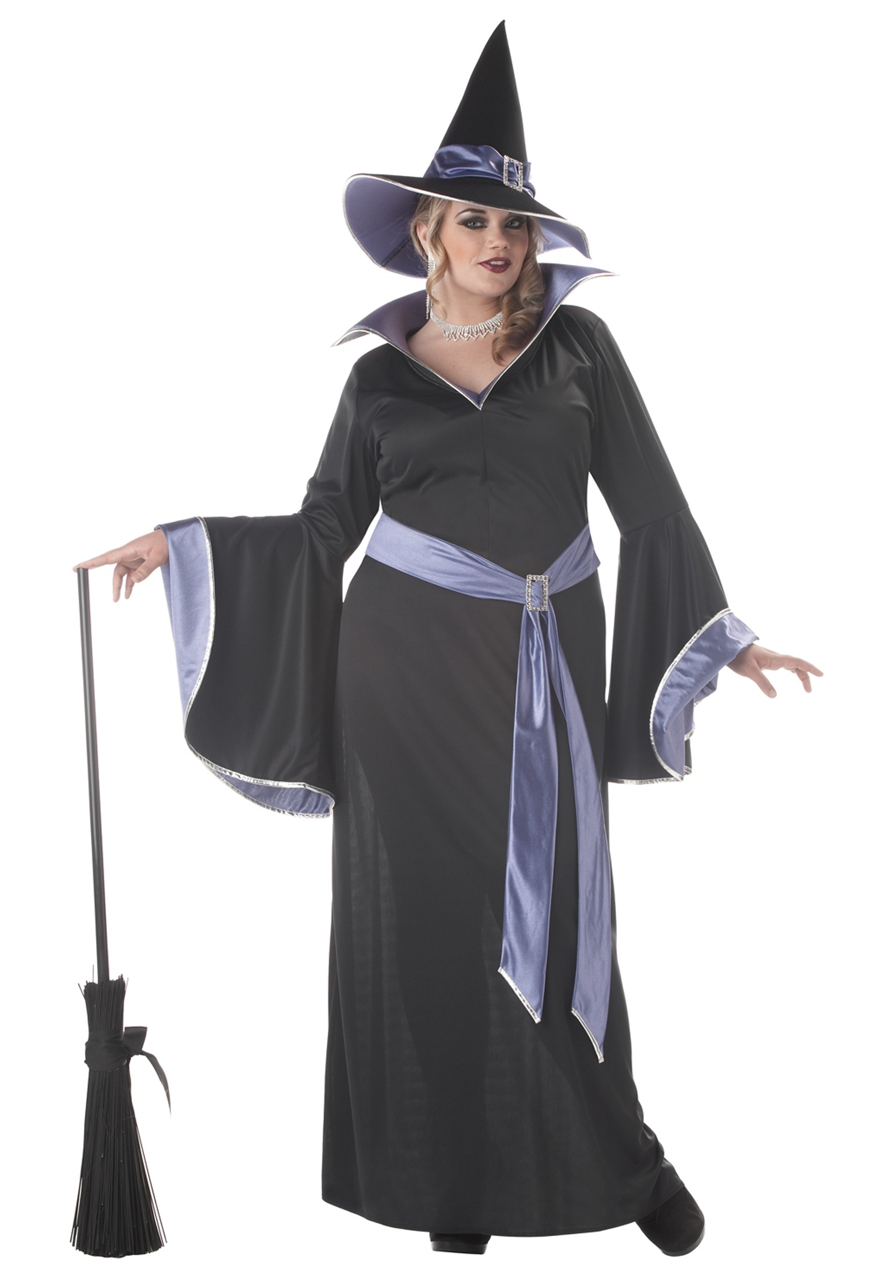 Plus Size Glamour Witch Incantasia Costume |Plus Size Halloween Costumes Witch