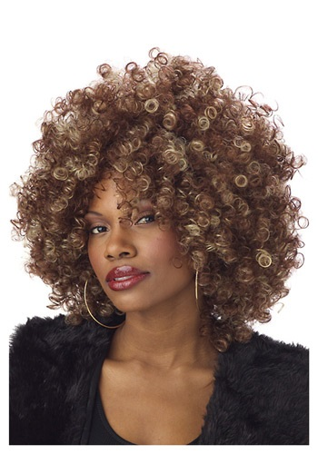Fine Foxy Fro Wig By: California Costume Collection for the 2015 Costume season.