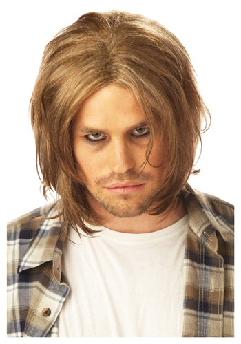 Grunge Mens Blonde Wig By: California Costume Collection for the 2015 Costume season.