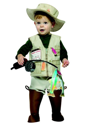 Click Here to buy Baby/Toddler Future Fisherman Costume from HalloweenCostumes