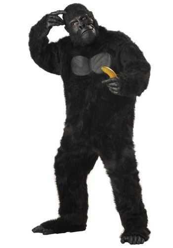 Click Here to buy Adult Gorilla Costume from HalloweenCostumes, CDN Funds