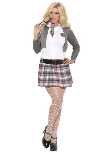 Plus Size Queen of Detention Costume