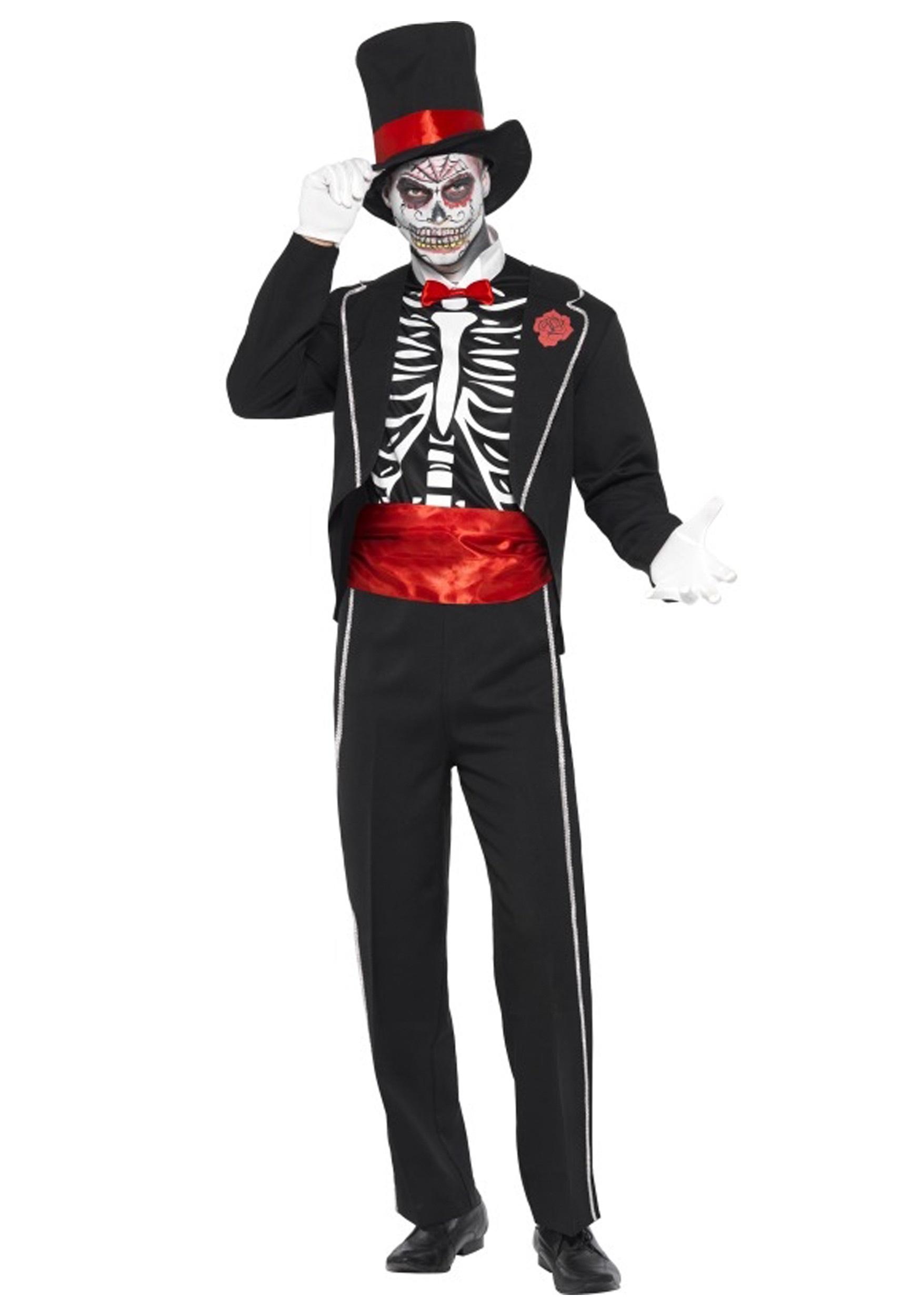 adult men's day of the dead costume