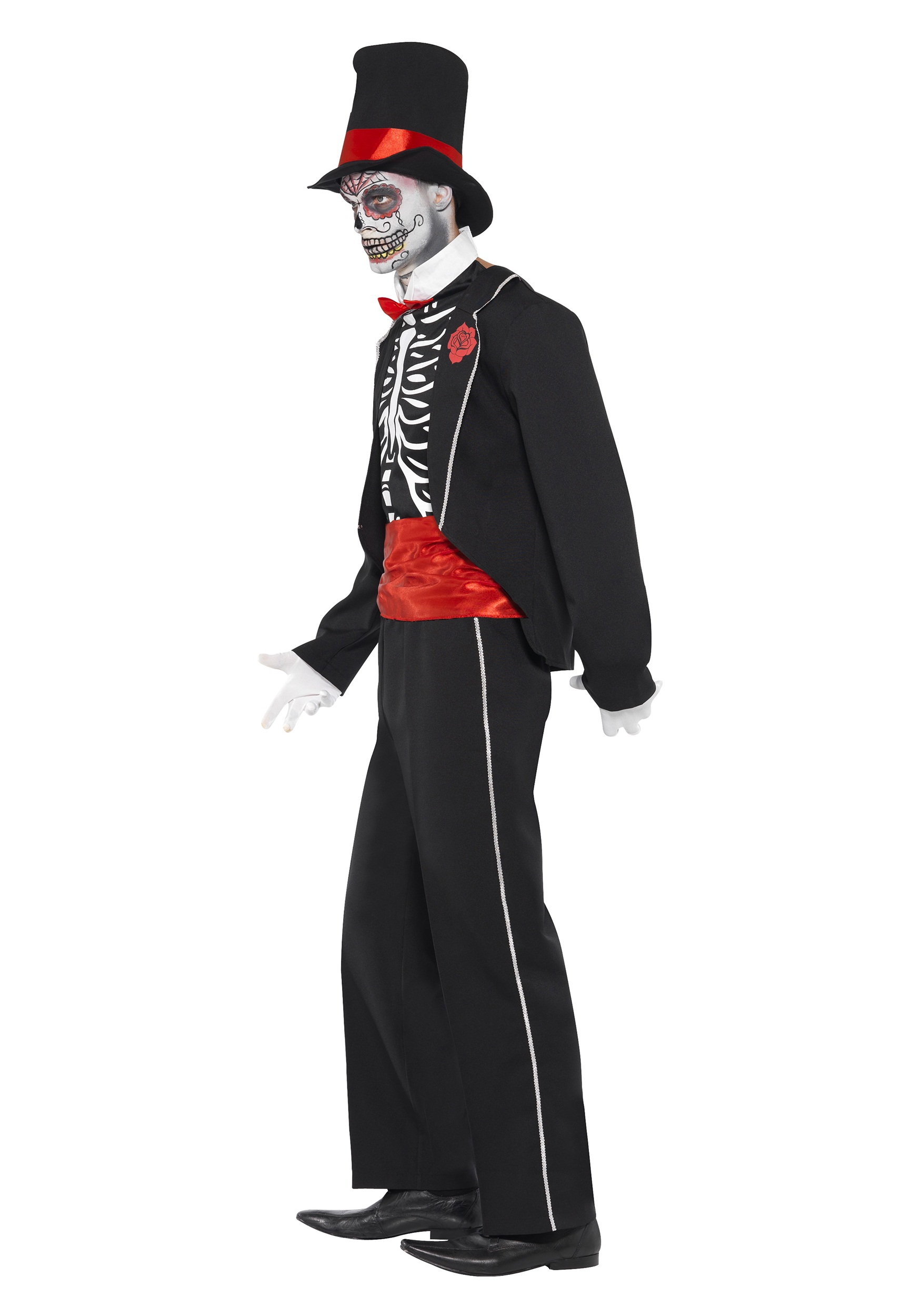 Adult Mens Day Of The Dead Costume