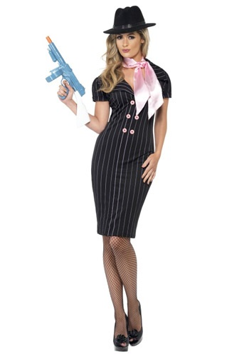 Click Here to buy Gangster Moll Costume from HalloweenCostumes, CDN Funds