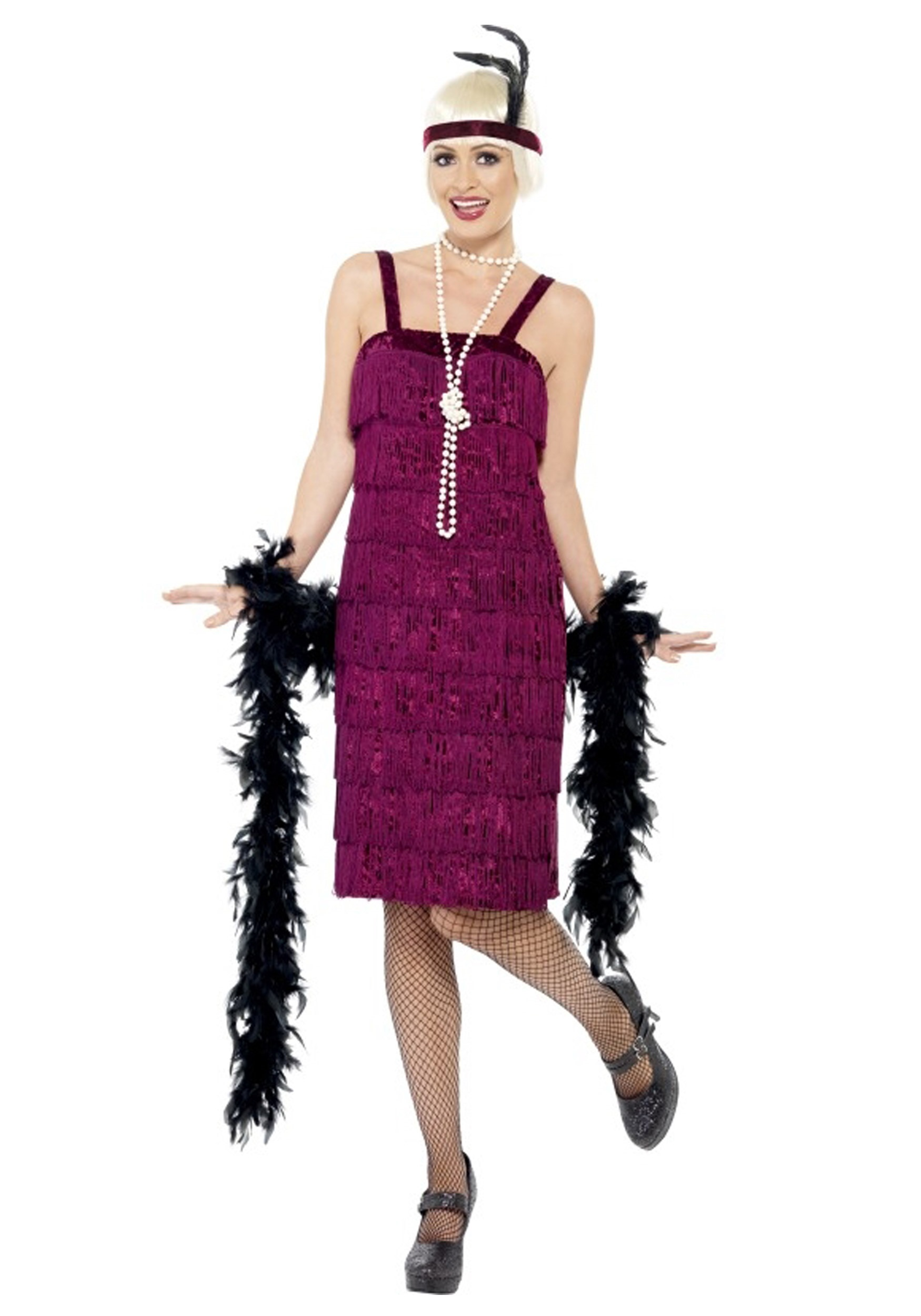 Flapper girl dress plus size