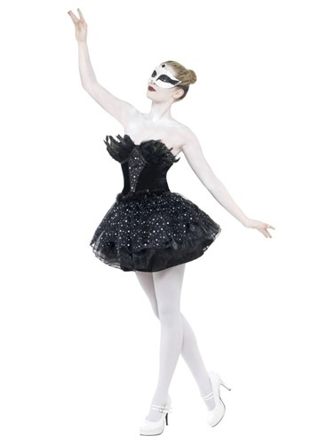 Gothic Swan Masquerade Costume By: Smiffys for the 2015 Costume season.
