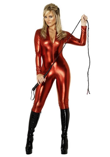 Women's Miss Tress Red Devil Costume