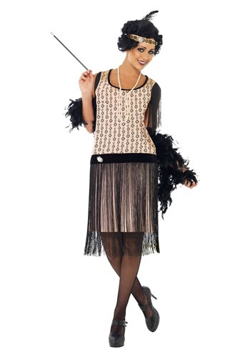Click Here to buy Womens 1920s Coco Flapper Costume from HalloweenCostumes, USA Funds & Shipping