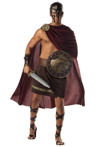Mens Spartan Warrior Costume