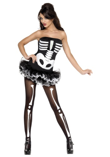 Click Here to buy Womens Sexy Skeleton Costume from HalloweenCostumes, CDN Funds