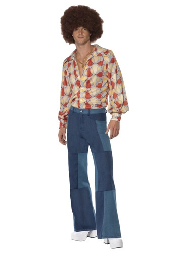Click Here to buy Mens Patchwork Pants from HalloweenCostumes, CDN Funds