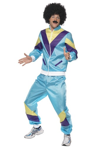 Mens 80s Height of Fashion Costume Suit