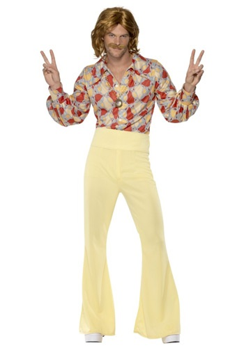 Click Here to buy Mens 1960s Groovy Guy Costume from HalloweenCostumes, CDN Funds