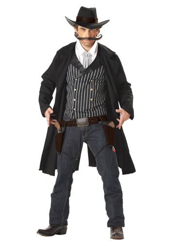 Gunfighter Western Costume for Adults