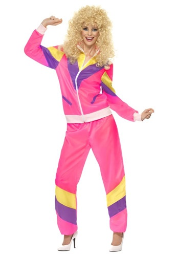 Click Here to buy Womens 80s Height of Fashion Suit from HalloweenCostumes, CDN Funds