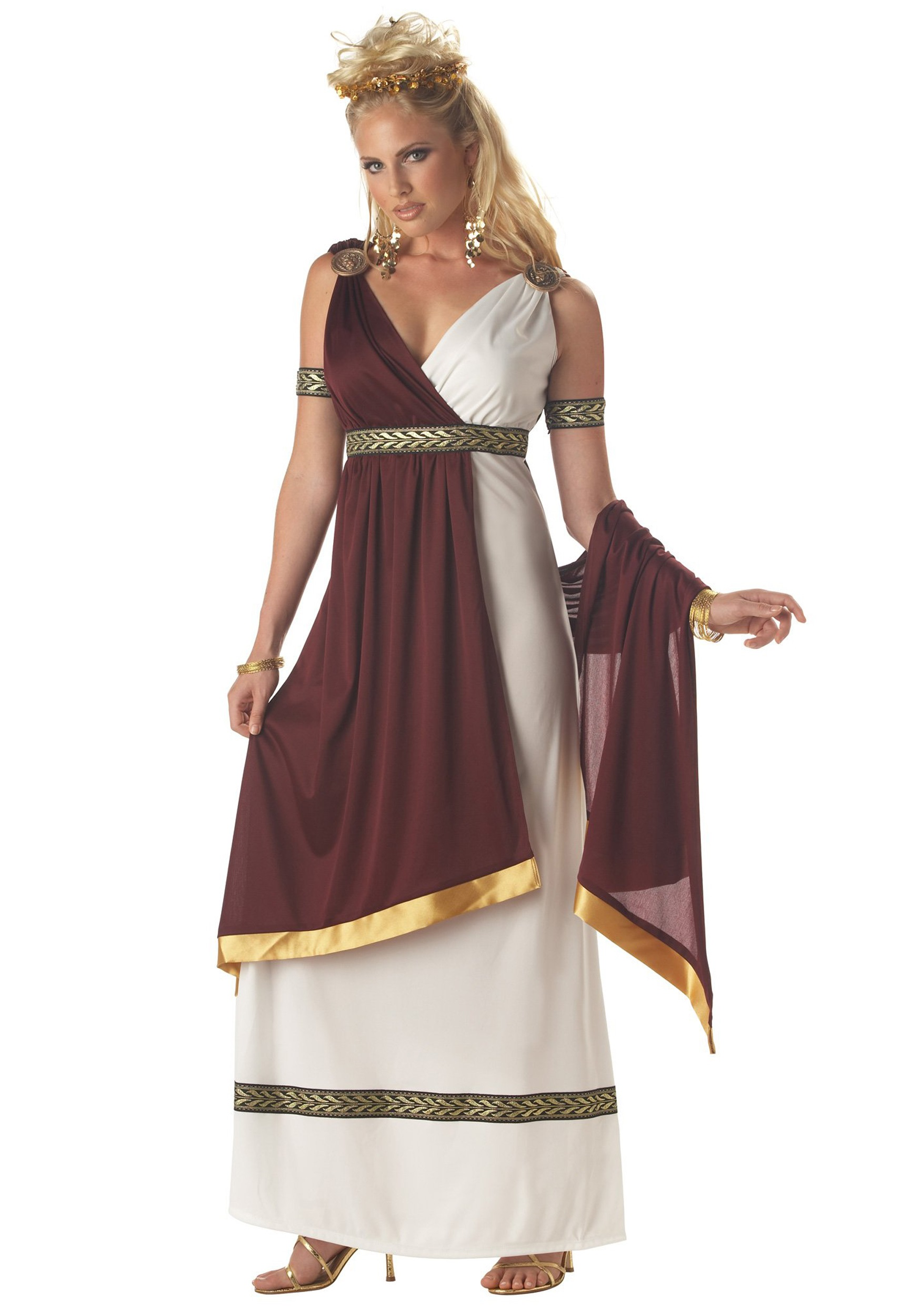 Roman Empress Costume  sc 1 st  Halloween Costumes & Roman Warriors u0026 Greek Goddess Costumes - HalloweenCostumes.com