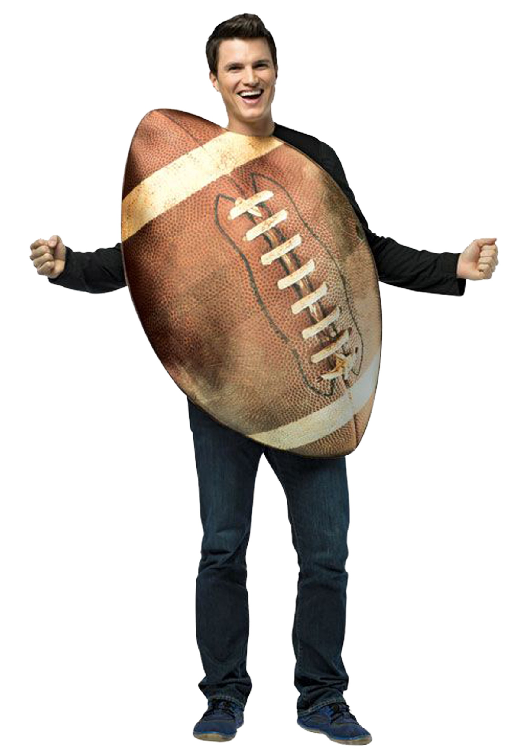 adult get real football costume - Halloween Costume Football