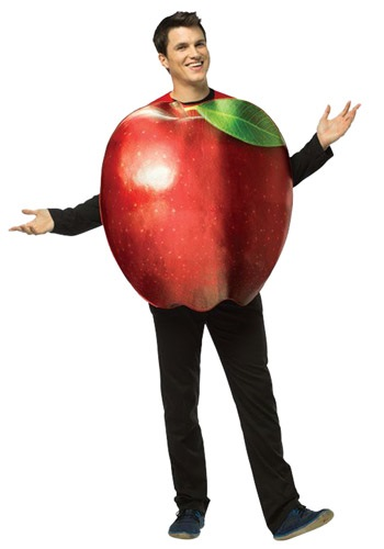 Adult Get Real Apple Costume By: Rasta Imposta for the 2015 Costume season.