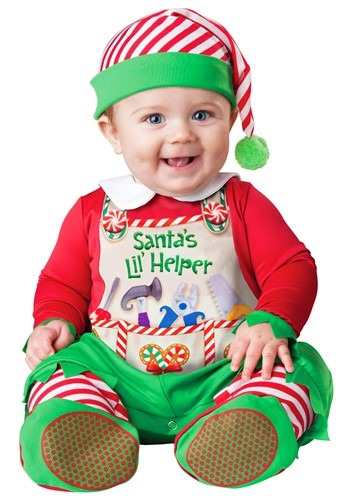 Click Here to buy Santas Lil Helper Costume from HalloweenCostumes, USA Funds & Shipping