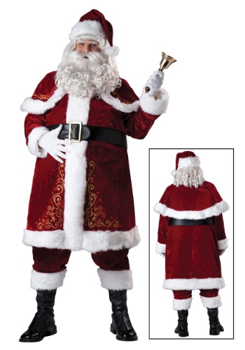 Click Here to buy Plus Size Jolly Ole St. Nick Costume 2X 3X from HalloweenCostumes, CDN Funds