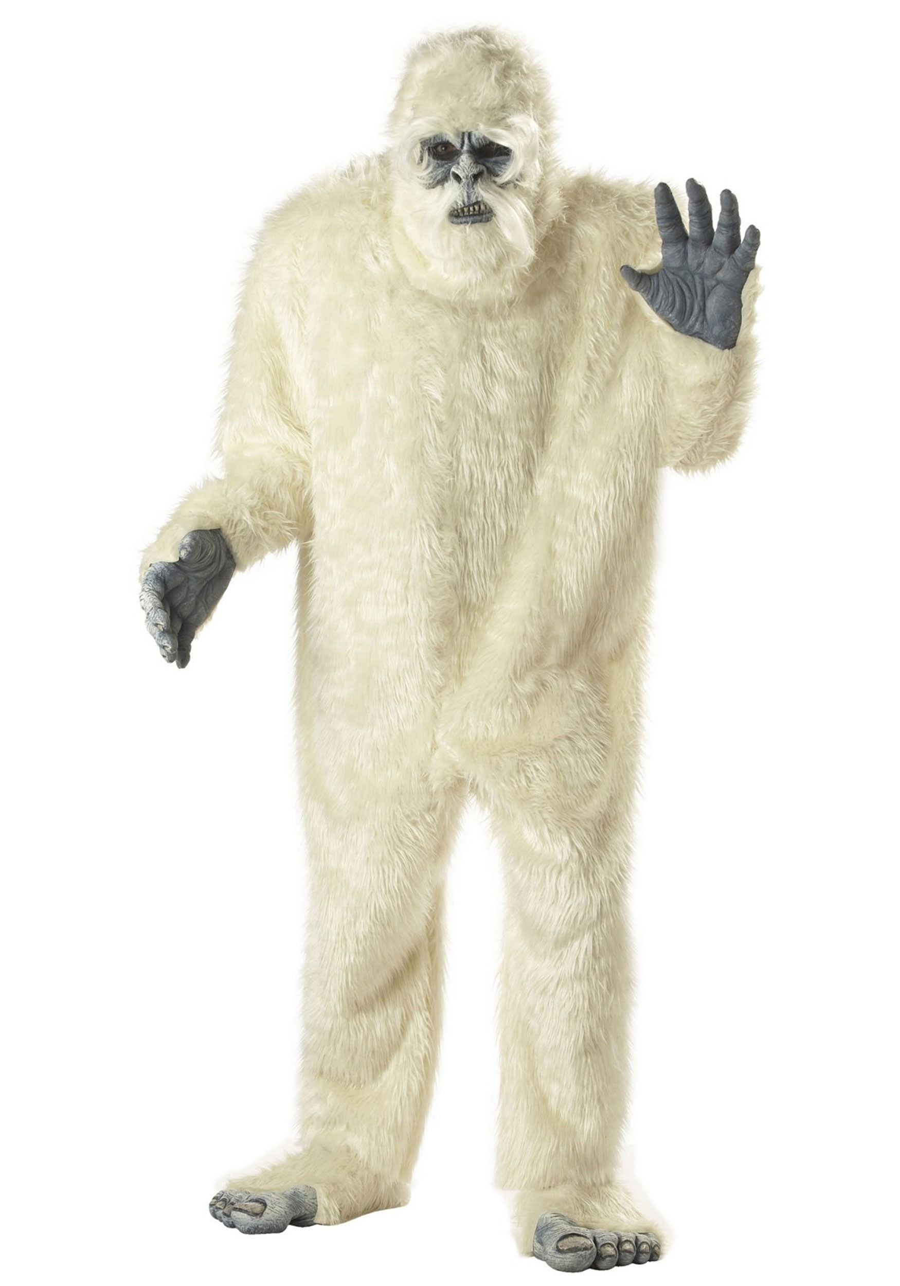 Adult Abominable Snowman Costume