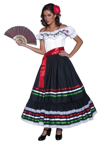 Authentic Western Senorita Costume By: Smiffys for the 2015 Costume season.